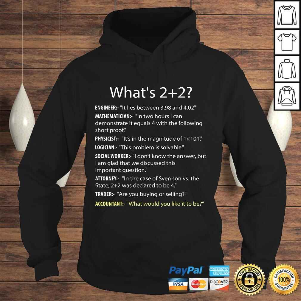 Whats 22 Funny CPA Accountant Accounting Shirt Tee Gift