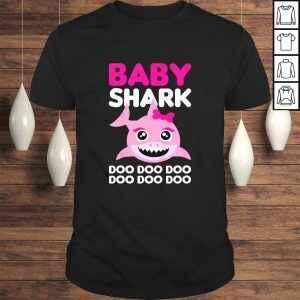 Kids Baby Cute Shark Gift for Girls – Doo Doo Doo TShirt