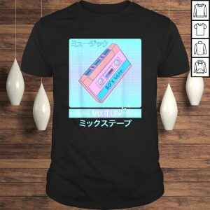 Mix Tape 80s Japanese Otaku Aesthetic Vaporwave ArTShirt Gift