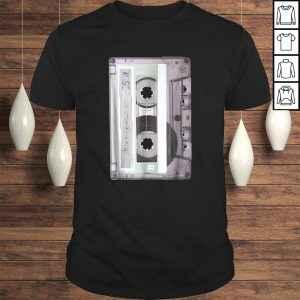 Official Old School Hip Hop Dj Mix Tape Mixtape Cassette Tee Shirt