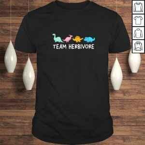 Official Team Herbivore Dinosaurs Vegan TShirt