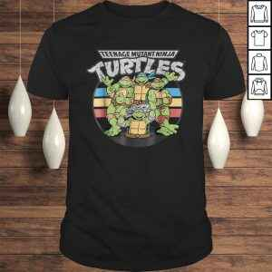 Official Teenage Mutant Ninja Turtles Retro Spot Logo Tee-Tee Shirt