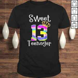 Official Teenager Shirt -13th Birthday Gift- Sweet 13 Tee