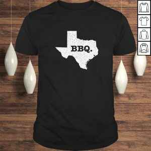 Texas BBQ Home State Love Funny Barbecue Beef Brisket Gift TShirt