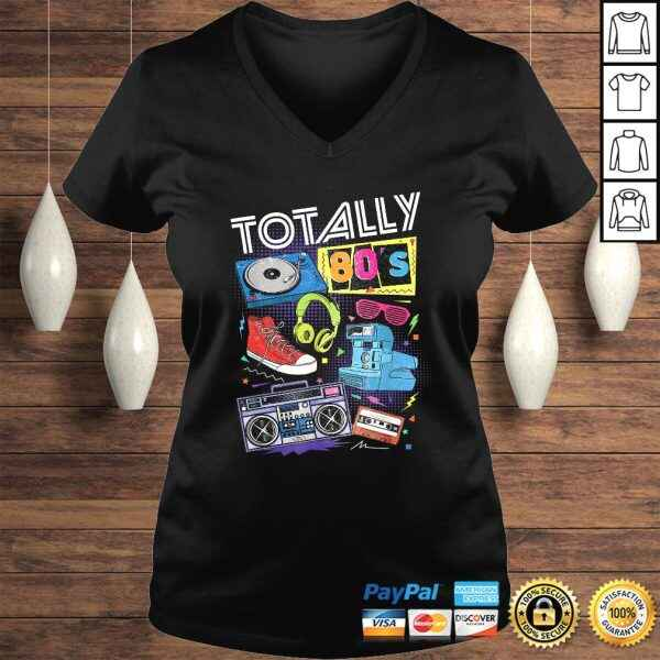 80s Retro Tee 1980s Party Gift Turntable Cassette Tee T-Shirt