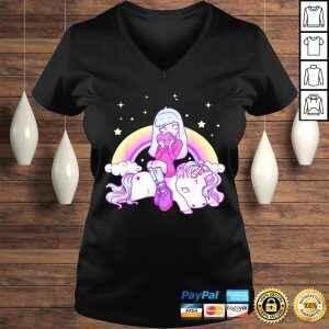 Kawaii Pastel Goth Unicorn Cute Girl Tee Shirt