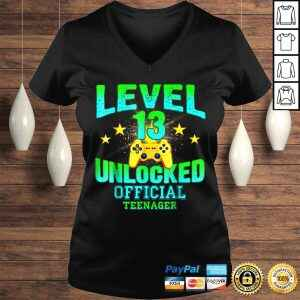 Official Teenager Shirt Level 13 Unlocked Birthday Gifts