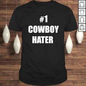 #1 cowboy hater houston texans fuck the Cowboys Tshirt