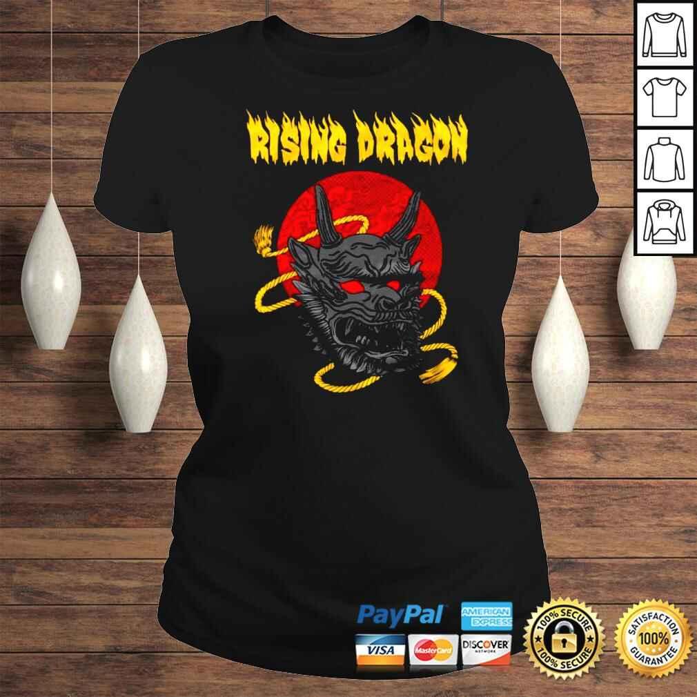 Funny Shingo Takagi Rising Dragon Shirt Classic Ladies Tee