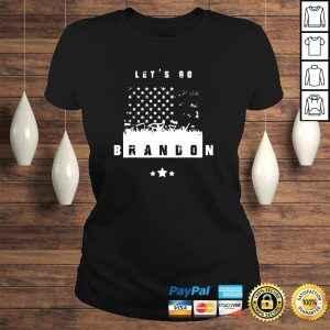 Let's Go Brandon Conservative AntiLiberal US Vintage Flag shirt