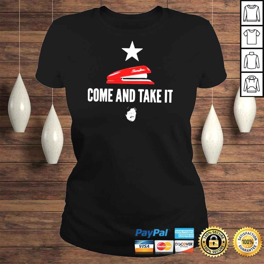 Miltons red stapler come and take it office space TShirt Classic Ladies Tee