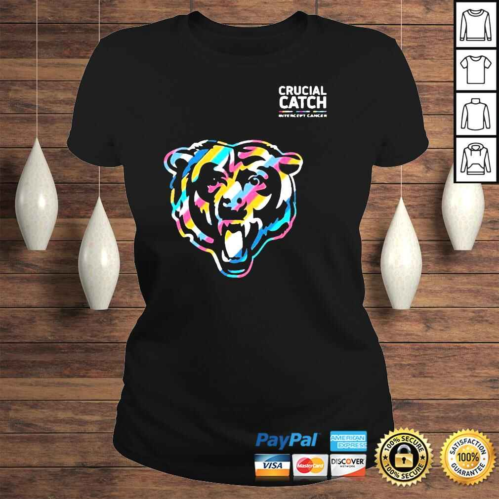 Official Crucial Catch Chicago Bears Shirt Classic Ladies Tee