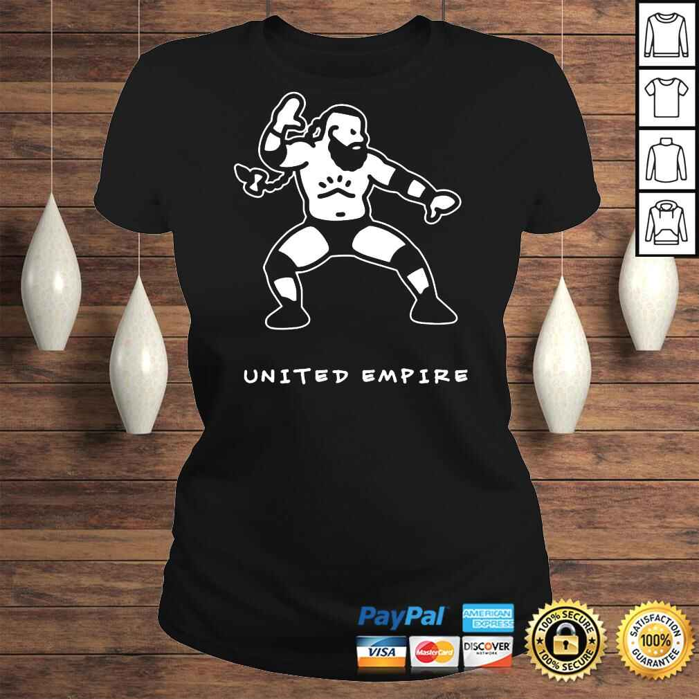 Official GreatOKhan United Empire Illustration Tshirt