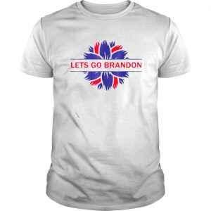 Funny Lets Go Brandon Anti Liberal US Flag Shirt