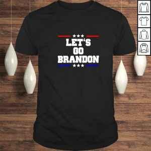 Funny Lets Go Brandon anti Joe Biden V-Neck T-Shirt