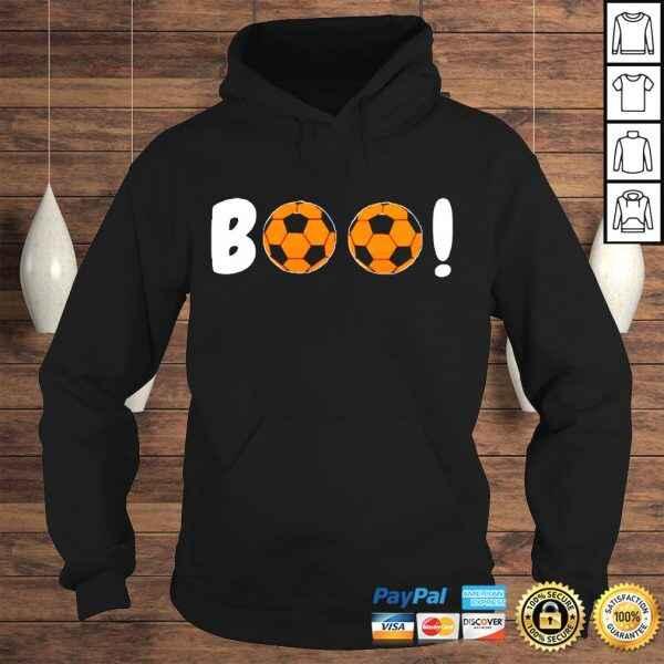 Funny Boo Soccer Ball Shirt