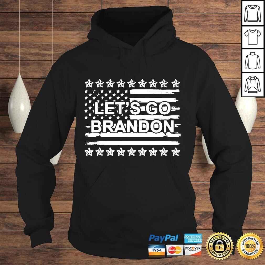 Let's Go Brandon Chant FJB Us Flag Tshirt Hoodie