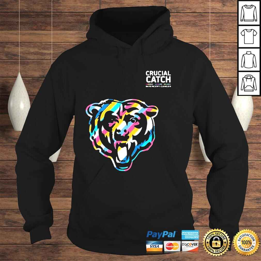 Official Crucial Catch Chicago Bears Shirt Hoodie