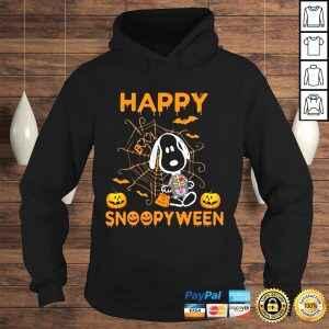 Snoopy happy snoopyween Halloween t shirt