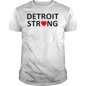 Official Detroit Strong Baseball TShirt