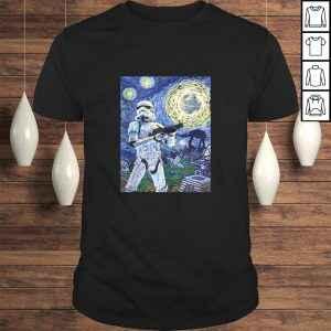 Official Star Wars Stormtrooper Starry Night tshirt