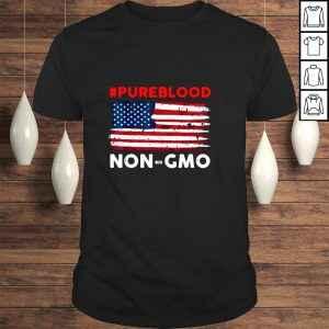 #Pureblood NonGmo American flag Shirt