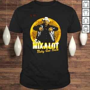 Sir Mix A Lot Gold Medallion Tshirt