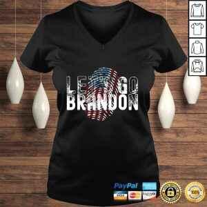 Official Fingerprint American Flag Lets Go Brandon Anti Biden t shirt